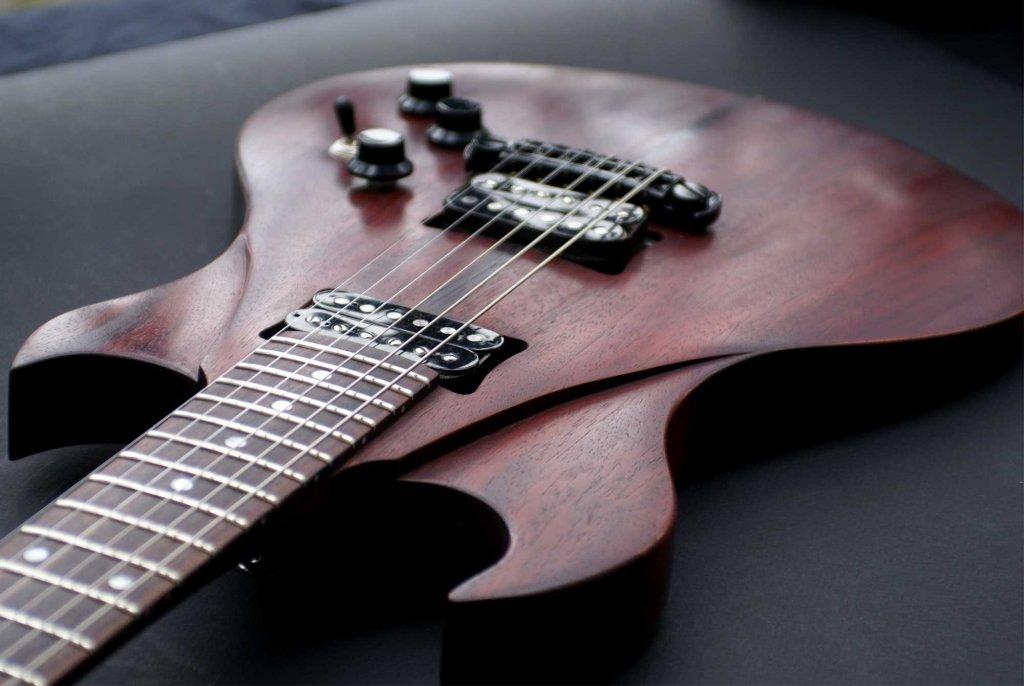custom-made guitar